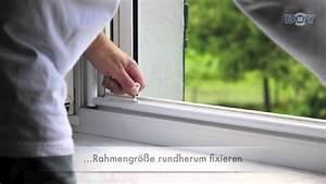 Fenstersicherung Ohne Bohren : boy katzennetze fenstersicherung mit schutznetz im rahmen youtube ~ Eleganceandgraceweddings.com Haus und Dekorationen
