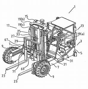 Patent Ep1481942b1 - A Truck Mounted Forklift With Double-acting Freelift Mast