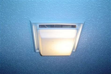 bathroom vent light cover moved permanently