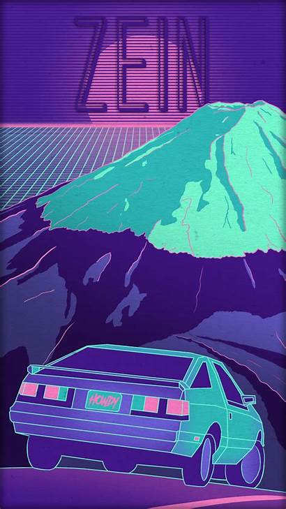 Wallpapers Synthwave Lo Aesthetic Fi Phone Sub