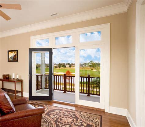 jeld wen custom wood patio doors transitional living