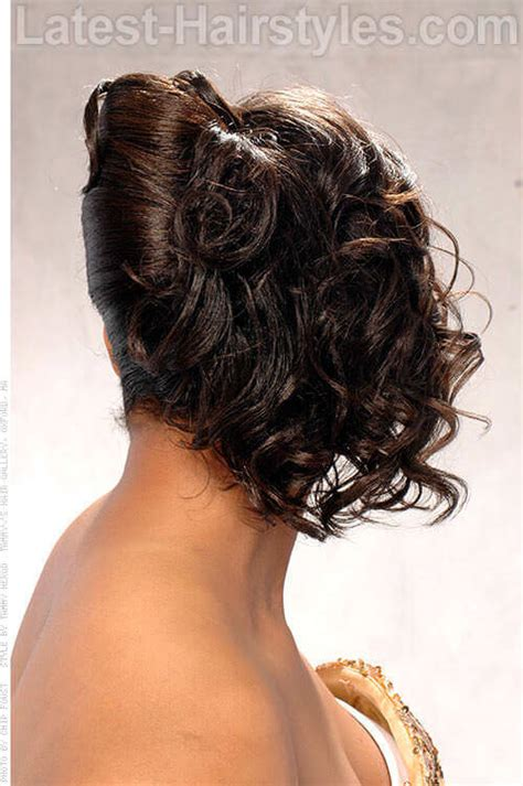 fall hairstyles  african american brides