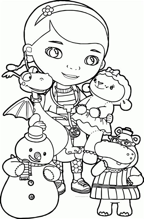 doc mcstuffins coloring pages doc mcstuffins coloring pages coloring home