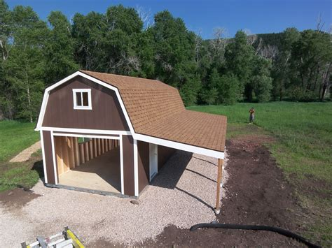 Tuff Shed Garage Barn by A Garage A Loft And A Carport This Tuff Shed Garage Has