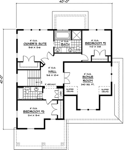 belgian trail bungalow home plan 091d 0424 house plans
