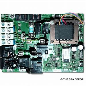 Gecko U00ae Spa Circuit Board For Hydroquip  Easypak Ep2000