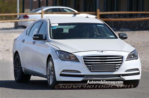 New Hyundai Equus by Next Hyundai Equus Spied