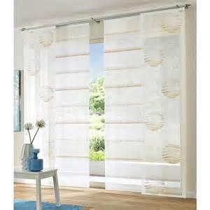 Rideaux Ikea Suisse by Panneau Japonais Voile Transparent Quot Boules Quot 224 L Unit 233