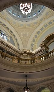 Belfast city hall interior stock image. Image of dome ...