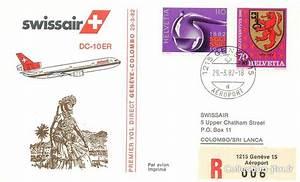 Vol Geneve Tokyo : lettre 1 er vol suisse gen ve colombo 29 mars 1982 1 er vol suisse ref 142851 ~ Maxctalentgroup.com Avis de Voitures