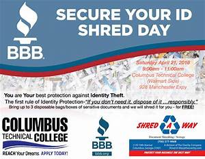 free document shred day muscogee moms With document shredding columbus ga