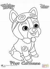 Coloring Whisker Haven Pilot Pages Palace Pets Printable Disney Princess sketch template