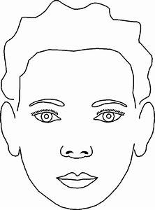 Blank Face Template For Face Painting | www.pixshark.com ...
