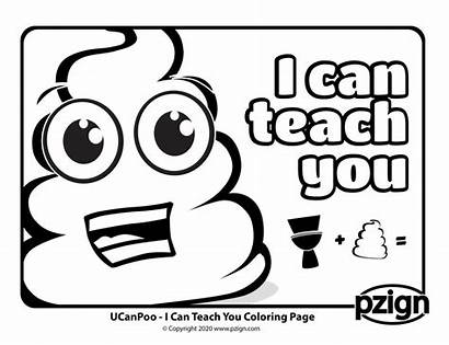Coloring Potty Know Pages