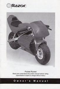 Manual For Razor Pocket Rocket