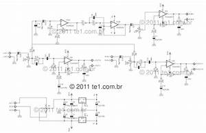 Circuit Power Audio Amplifier With Under Repository