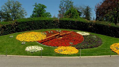 geneva flowers 18 flower clock jardin anglais geneva switzerland