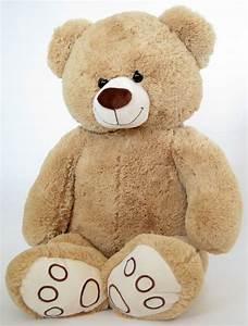 Teddybär Xxl Günstig : xxl teddyb r 1 m gro beige pl schb r teddy stoffb r pl sch pl schtier b r ebay ~ Orissabook.com Haus und Dekorationen