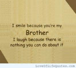 Love Quotes About Brothers