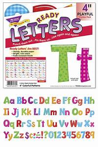 trend enterprises ready letter set assorted colors With ready letters