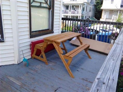 build   convertible picnic table bench diy
