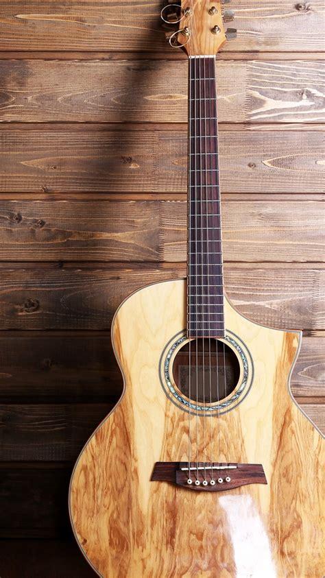 fondos de pantalla guitarra musical fondo de madera
