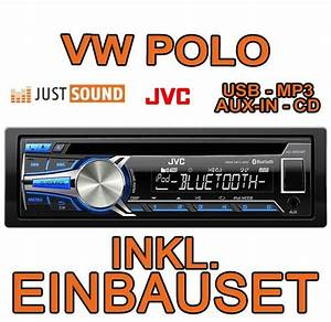 Autoradio Polo 9n : vw polo 9n jvc bluetooth usb autoradio cd mp3 einbauset ~ Jslefanu.com Haus und Dekorationen
