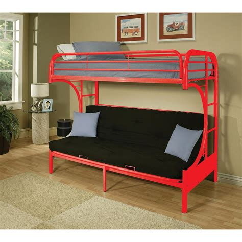 futon beds for sale acme furniture eclipse metal bunk bed