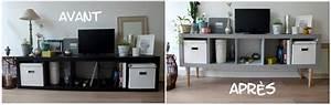 Repeindre Meuble Ikea : comment repeindre meuble ikea table de lit a roulettes ~ Melissatoandfro.com Idées de Décoration