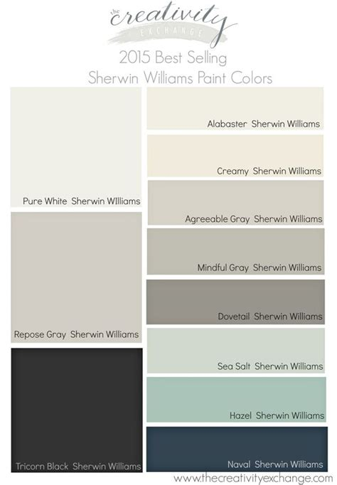 best color to paint a bedroom to sell 2015 best selling and most popular sherwin williams paint colors benjamin best sellers on