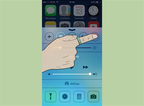 iphone rotation setting how to rotate screen on iphone 7 steps wikihow