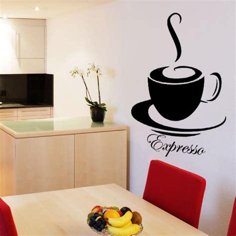 destock cuisine sticker tasse de café expresso deco cuisine destock