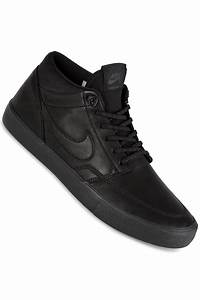 Nike SB Solarsoft Portmore II Mid Bota Shoes (black) buy ...