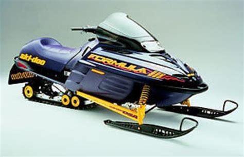 formula 3 skidoo ski doo formula lll 3 600 r 1998 pdf shop manual