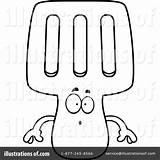 Spatula Clipart Illustration Thoman Cory Royalty Rf sketch template