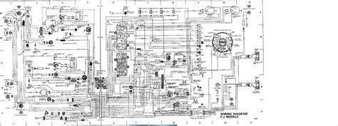 Wiring Diagram For 1984 Jeep Cj 7 by 1984 Jeep Cj7 Ignition Wiring Diagram Wiring Diagram