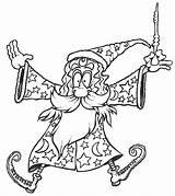 Wizard Merlin Coloring Dab Popular Coloringhome sketch template