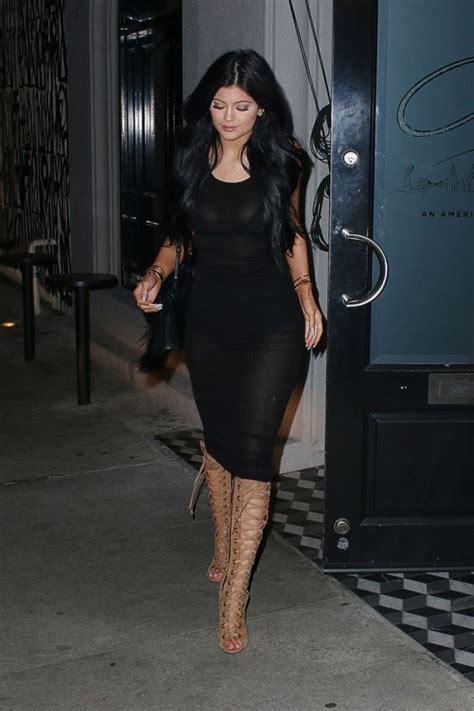 Kylie Jenner Style - Out in West Hollywood February 2015