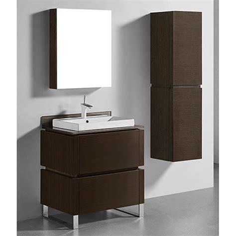 madeli metro  bathroom vanity  glass counter