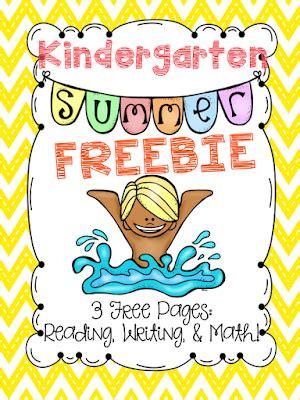 Classroom Freebies Too Summer Freebie