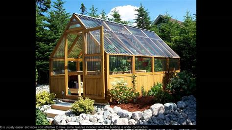 greenhouse construction plans  youtube