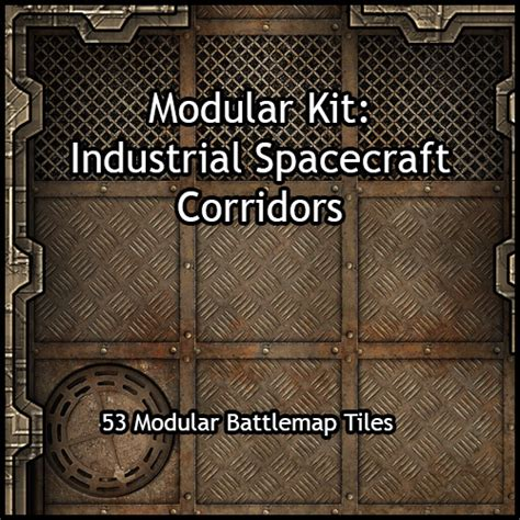 3d Dungeon Tiles Pdf by Heroic Maps Industrial Spacecraft Corridors Bols Gamewire