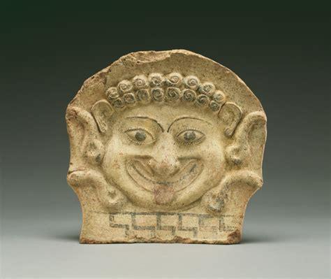 Gorgon Head Antefix (Getty Museum)