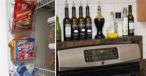 kitchen storage hacks 20 easy kitchen organization hacks 3149