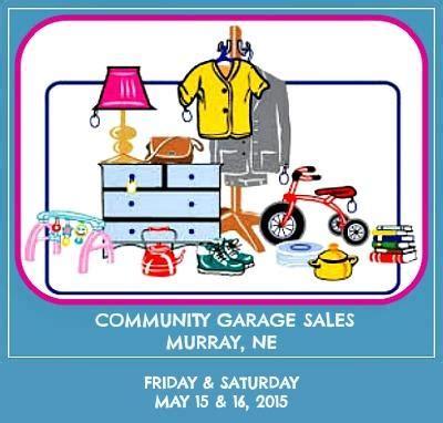 nebraska garage sales elmwood newsletter 03 18 2015