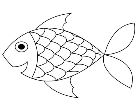 Coloring Fish by Free Printable Fish Coloring Pages For Your Lovely Toddlers