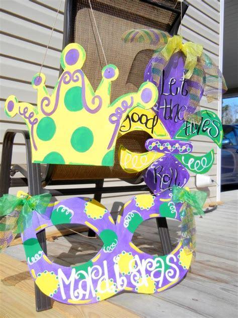 Mardi Gras Mask Door Decoration by Shops Mardi Gras And Doors On