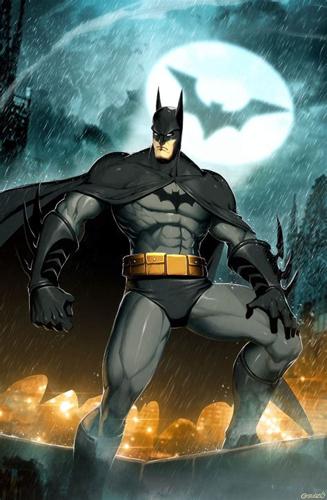 Batman By Genzoman On Deviantart
