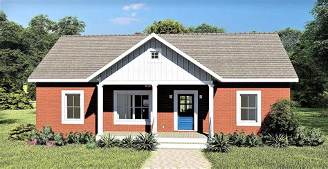 House Plan 77406 Ranch Style with 1311 Sq Ft 3 Bed 2