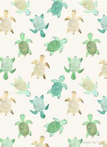 """""""Gilded Jade & Mint Turtles"""" by Tangerine-Tane Redbubble"""
